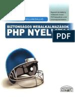 Biztonságos Webalkalmazások Php Nyelven 2010 8a62efa722