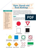 RoadSense for Riders Signs Signals and Road Markings MV2076