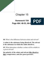 Chapter 15 Homework