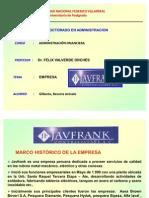ADMINISTRACIÓN FINANCIERA DIAPOSITIVAS EMPRESA