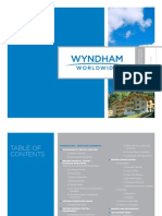 Sustainability Report for Wyndham Worldwide ( Global Reporting Initiative)