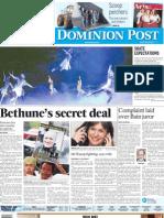 Bethune's secret deal