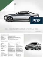 2010+Camaro+Specifications