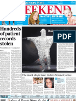 Hundreds of patient records stolen