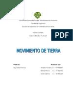 Electiva II-movimiento de Tierra