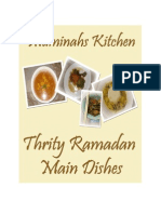 Muminah's Kitchen Ramadan 30 Main Dishes