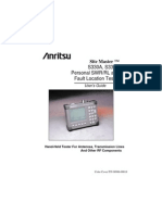 Anritsu Site Master S331A User Guide