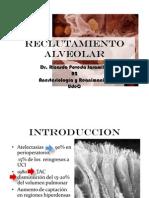 Reclutamiento Alveolar