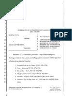 Appendix of Non-WA Authorities 5-17-11