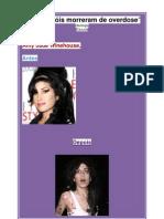 Amy Winehouse, antes e depois