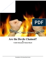 Are the Devils Chained?