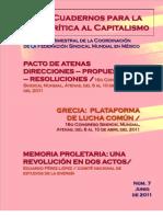 Cuadernos para la Crítica al Capitalismo #7