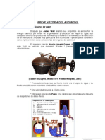 Breve Historia Del Automovil