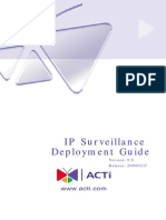 ACTi IP Surveillance Deployement Guide_Beta_0.9