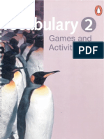 Vocabulary Games and Activities 2