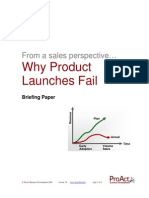 Failing Product Launch v4