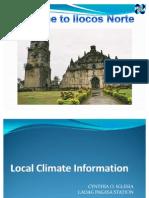 Climate of Ilocos Norte