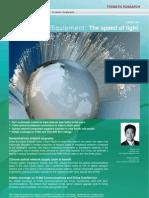 20110603-BNP Paribas-China Equipment- The Speed of Light