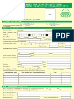 Self Employment Form
