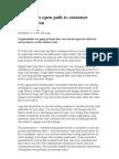 2005 Nov Companies Open Path to Customer Innovation