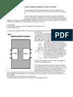 How to Make Yukata