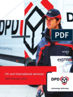 Dpd Uk Tariff Guide