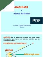 Angulos y Restas Paralelas