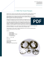 BS 10 1962 Flat Faced Flanges.