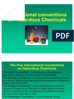 International Conventinos on Hazardous Chemicals