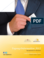 Ringhotels TagungsInformation 2012