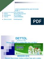 Dettol Project Ppt