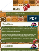 VEGAS CRAPS - Field and Hardway Bets