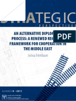 A Renewed Regional Framework For Cooperation in the Middle East