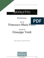Rigoletto libretto giuseppe verdi