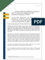 Additional Aid EU - July 2010