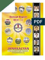 Janakalyan 14 Annual Report 2010-11