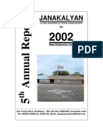 Janakalyan 5 Annual Report 2001-02