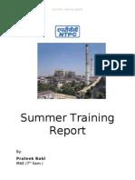 Ntpc Report