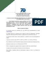 GINCANA ODONTOLOGICA (regulamento) 2011.2