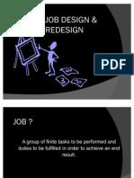 Job Design Amp Redesign