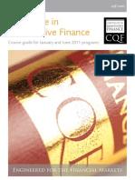 CQF Brochure 2011