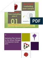 Non Profit African Refugee Development Center Marketing Plan