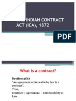 Indian Contract Act Offer Acceptance Damages