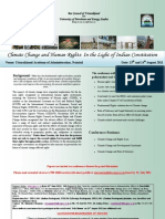 Conference on Climate Change and Human Rights