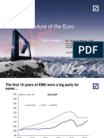 Stav a budoucnost společné evropské měny (dokument v AJ)