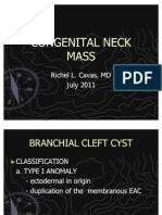 Congenital Neck Mass