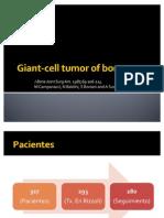 Giant-Cell Tumor of Bone