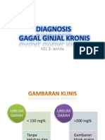 Diagnosis Gagal Ginjal Kronis