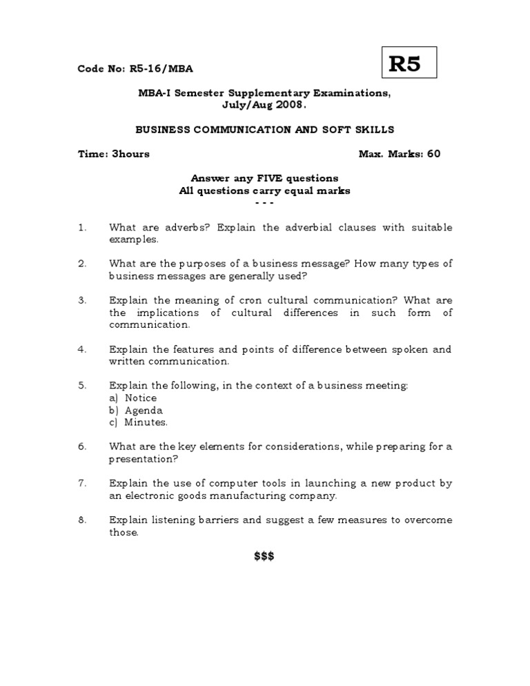 difference between spoken and written communication