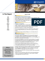 Black and Veatch Capital Markets Report